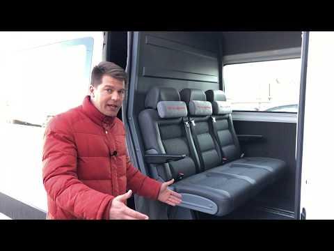 Грузопассажир трансформер! Volkswagen Crafter 6 мест.