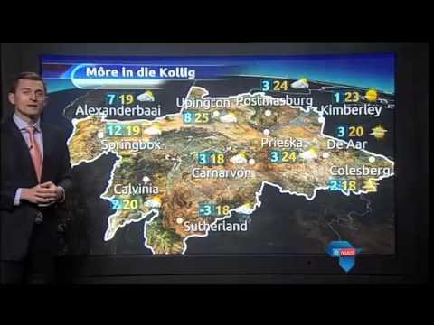 eNuus-weervoorspelling: 8 Junie 2015 / eNuus weather forecast: 8 June 2015