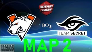 [RU] Virtus.pro vs. Team Secret - DreamLeague Season 11 BO3 Lower Bracket MAP 2 @4liver