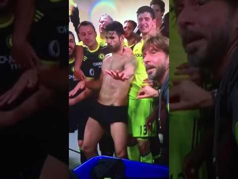 Diego Costa Funny Dance   Chelsea Premier League Champions