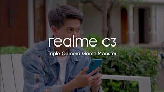 Realme C3 - Triple Camera Game Monster   Prosesor Helio G70 Pertama Di Indonesia [In-Store Now]