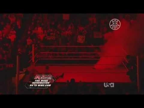 Raw 1/2/12 Kane Attacks John Cena & Zack Ryder HD