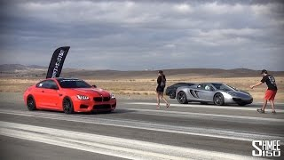 Vorsteiner BMW M6 F12 - Drag Races at Shift S3ctor