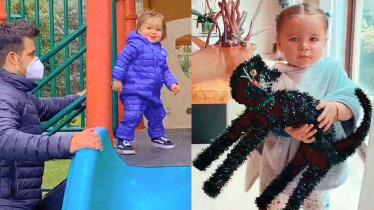 La hija de Brandon Peniche y Kristal Cid, Alessia juega con sus padres y su abuela