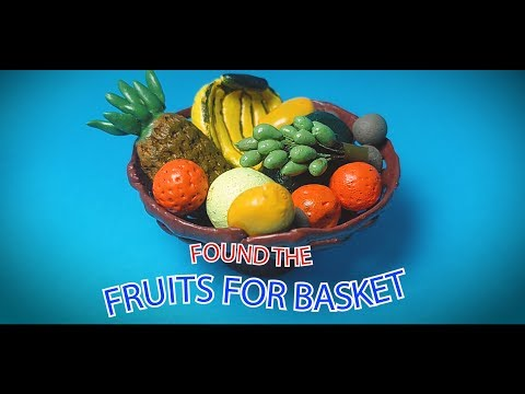 DIY | How to make Miniature Fruits using Paper mache Clay | Fruit Basket Part 2