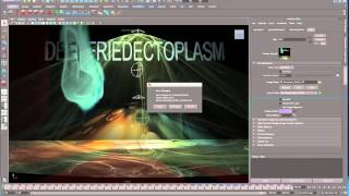 Maya 2011 Attach Image Sequence Gobo to Spotlight Tutorial by Stuart Christensen .mov