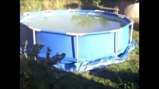 Какой бассейн для дачи выбрать (59 фото) своими руками: надувной, морозоустойчивый, стационарный и другие, фото и и видео