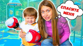3-YEAR-old CHILD is in CONTROL of MY DAY to 24-HOUR | Anny May