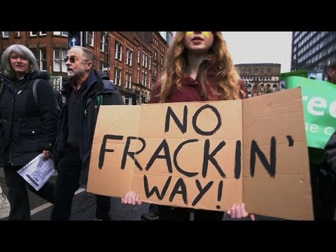 UK's largest anti-fracking gathering held in Manchester