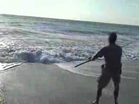 Juno beach pier fishing crew 050107 6 youtube for Juno pier fishing report