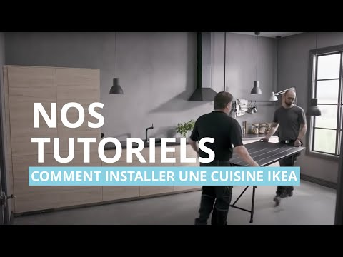 Tuto Installer Une Cuisine Ikea Youtube