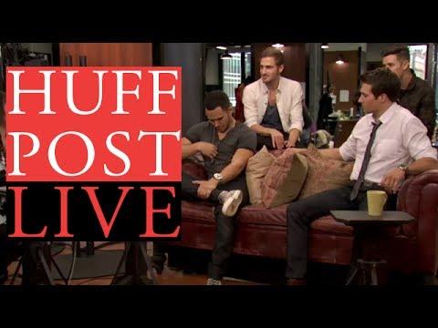 Big Time Rush em Huffpost Live - Setembro 2013 [LEGENDADO PT-BR]