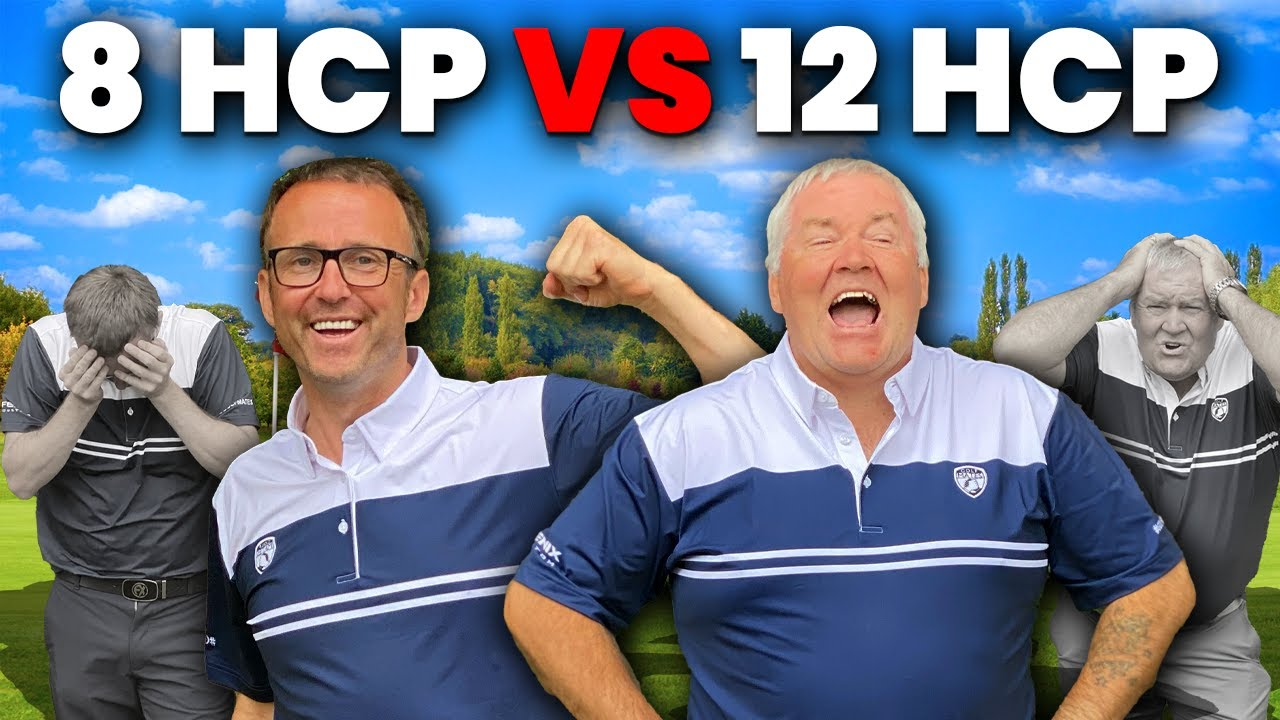 AMAZING SCRATCH GOLF MATCH! 8 HANDICAP VS 12 HANDICAP!
