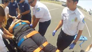 emt class mass casualty incident drill