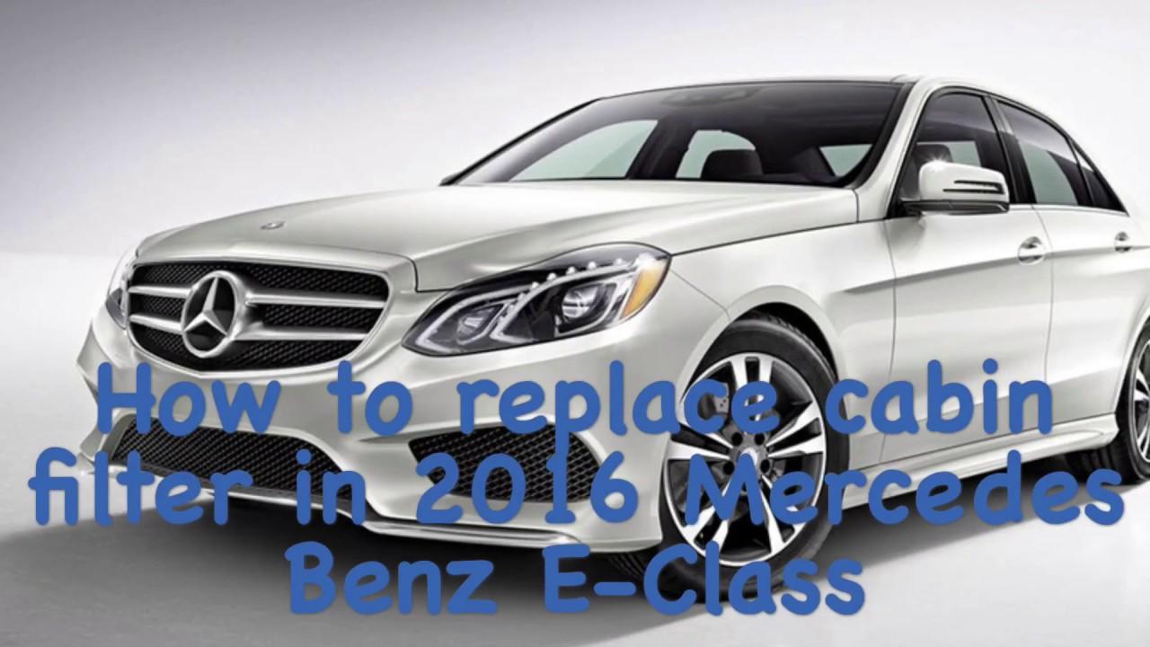 Luftfilter Mercedes Benz E Klasse