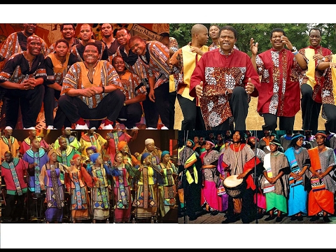 Ladysmith Black Mambazo & Soweto Gospel Choir  (1b)