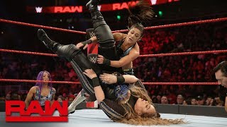Bayley vs. Nia Jax: Raw, Feb. 25, 2019