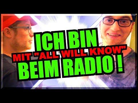 ALL WILL KNOW bei Radio Darmstadt 🔥 VLOG 🔥 BOROs RockShow RaDaR