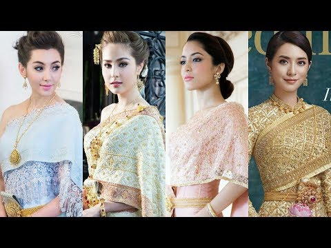 Top 10 Most beautiful Thai Actresses Wearing Wedding Dress 2017