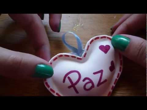 Manualidad en Goma Eva / Fomi para San Valentin! FACIL! de YouTube · Duración:  5 minutos 51 segundos