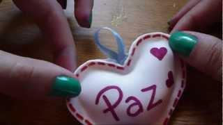 Repeat youtube video Manualidad en Goma Eva / Fomi para San Valentin! FACIL!