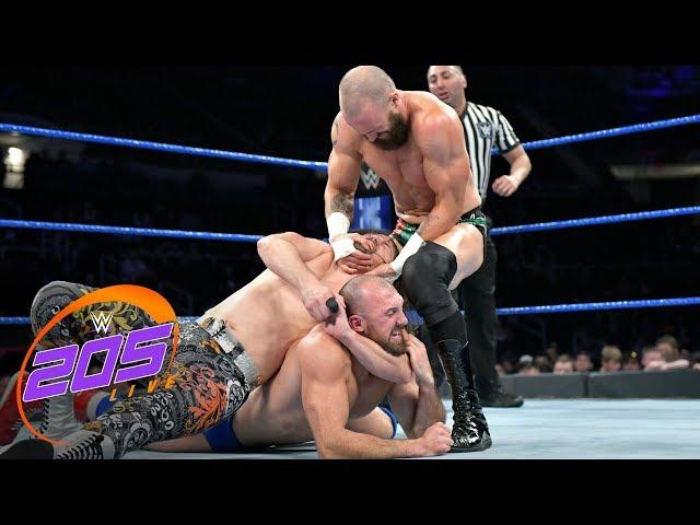 Tozawa vs. Lorcan vs. Kendrick vs. Daivari vs. Kanellis – Fatal 5-Way: WWE 205 Live, May 21, 2019