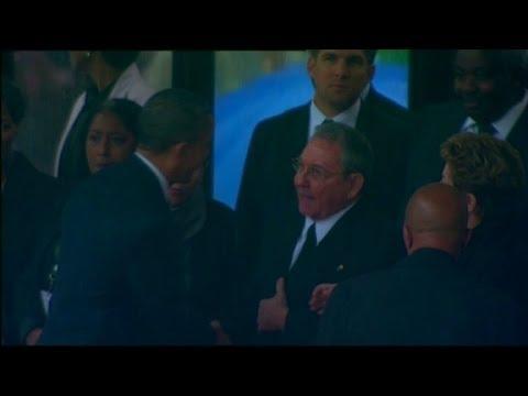 McCain slams Obama for Castro handshake