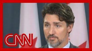 Justin Trudeau: Iran must take full responsibility