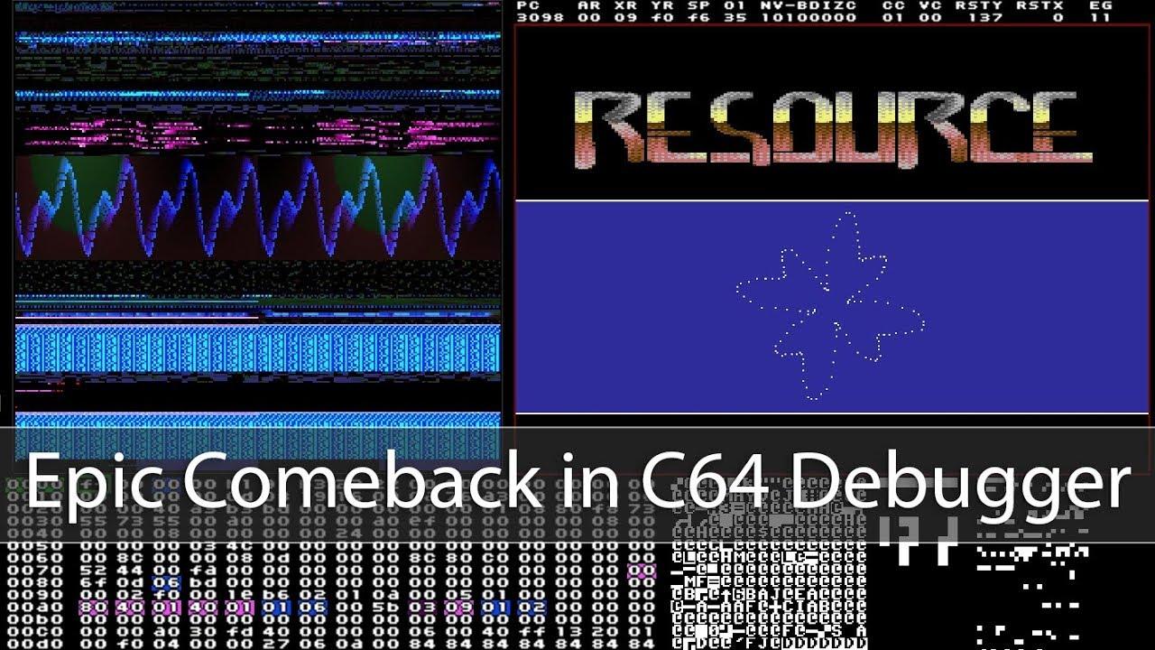 Epic Comeback in C64 Debugger – Engine Designs