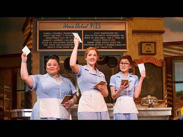 Opening Up Lyrics Waitress Musical