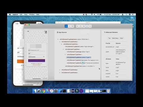 Session 01: Inspect IOS Native App Using Appium Desktop On Mac