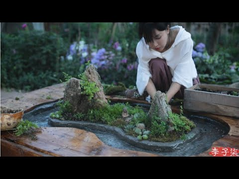Download Wine table of winding canal—an exciting by-product of watching TV!这是一个看电视看出来的曲水流觞桌!丨Liziqi Channel