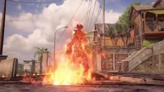 Uncharted 4  ко-оп выживание, часть2. Мадагаскар. Огненный босс Джинн!