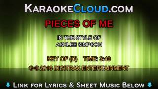 Ashlee Simpson - Pieces Of Me (Backing Track)