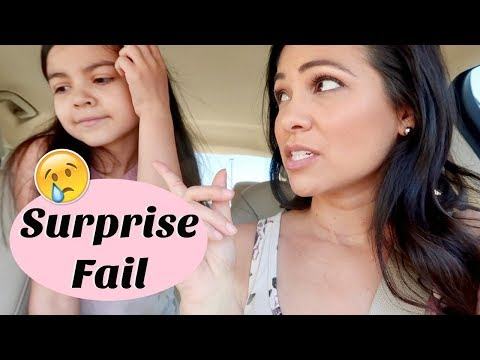 SURPRISE FAIL & ERRANDS ALL DAY || STAY AT HOME MOM LIFE 2018