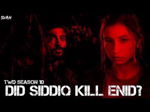 did-siddiq-kill-enid?-(new-theory)-  -the-walking-dead-season-10