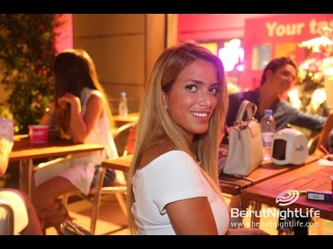 Opening of Yeh! Yogurt in Beirut Souks