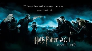 57 facts that will change the way you look at Harry Potter - #01