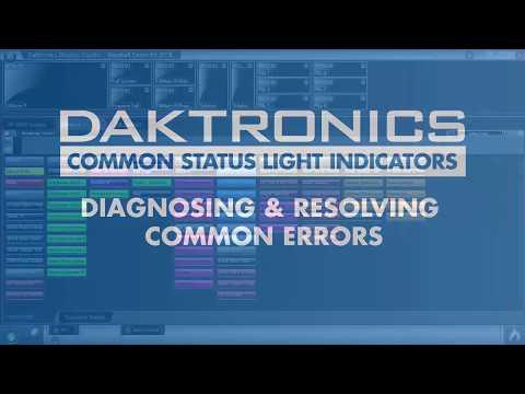 Common Status Light Indicators