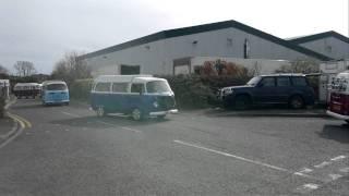 Danbury VW Type 2 convoy!