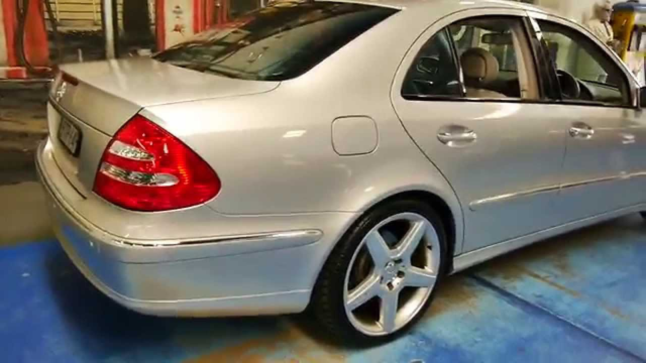 2003 Mercedes Benz E500 Avantgarde W211 - YouTube