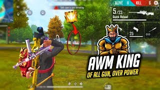 AWM Without Scope Is Finally Over Power Must Watch - Garena Free Fire