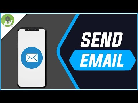 How To Send An Email Via JavaMail API - Android Studio Tutorial