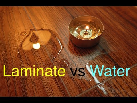 Protect Laminate Flooring from Water Damage!!!