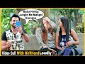 Video Call With Girlfriend in Front Of Cute Girl's - Pranks In India - Epic Reactions| By TCI
