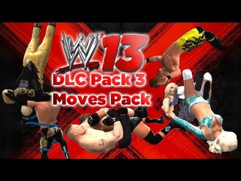 WWE 13 - DLC Pack 3 Moves Pack Gameplay