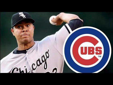Chicago Cubs Trade for Jose Quintana!