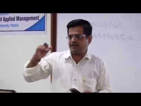 Workshop on Data Envelopment Analysis (DEA) - Session 6 {Watch in HD only}