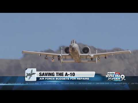 Warthog wings: More money to keep A-10s flying