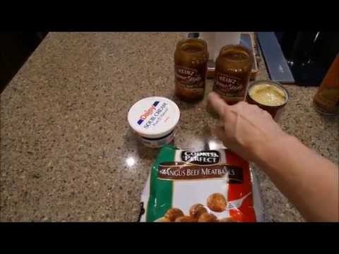Crockpot Swedish Meatballs 5 Minute Prep